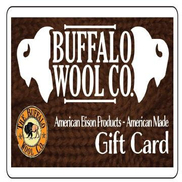 Gift Cards Gift Cards The Buffalo Wool Co.