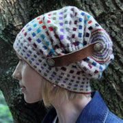 Spare Squares Hat pdf pattern Patterns & Kits The Buffalo Wool Co.