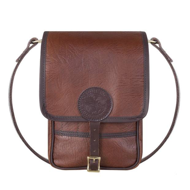 Bison Leather Haversack Bag Duluth Pack Brown