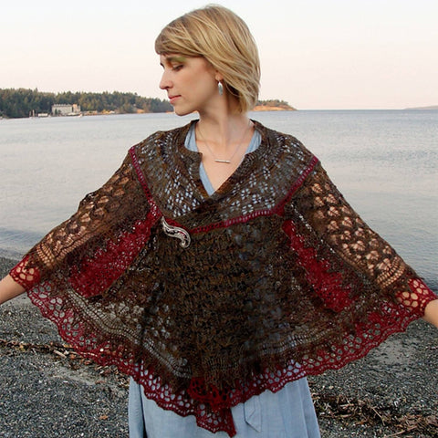 """Love is..."".PI Shawl Kit"