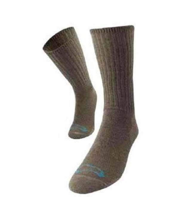 Casual Crew Bison/Merino blend Socks Bison Footwear The Buffalo Wool Co.