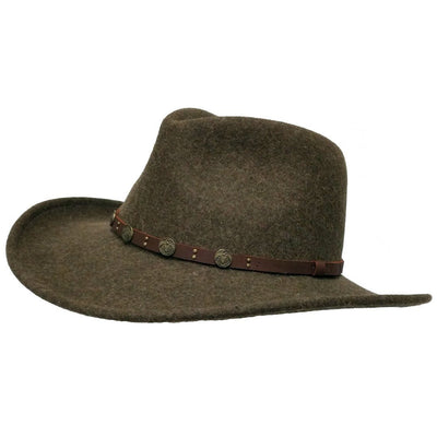 Hunter Crushable Hat - Heathered Olive