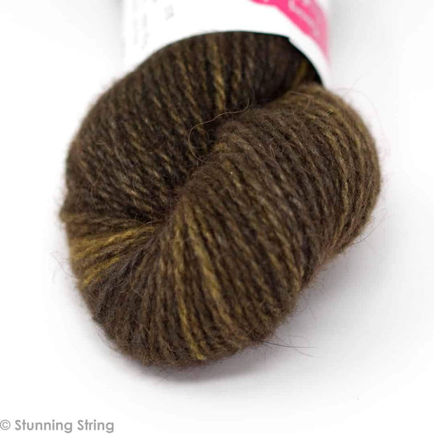 Prairie - Bison/Silk Sport Weight Yarn Stunning Buffalo Stunning String Studio