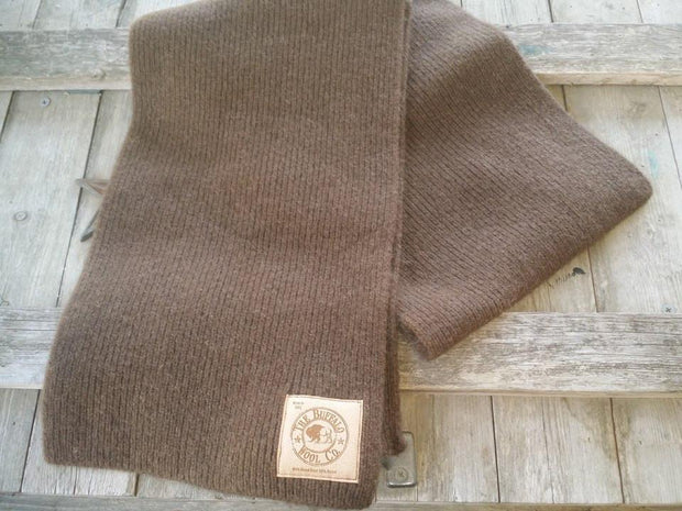 Bison Down Scarf