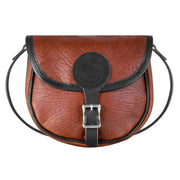 Bison Leather Shell Purse Bag Duluth Pack Small Black