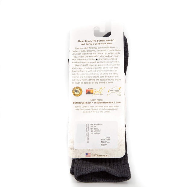 Pro-Gear Crew Bison/Silk Socks