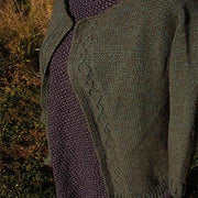 Lamar Ranch Cardigan sweater - PDF pattern Eastend Designs Co