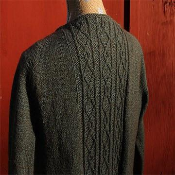 Lamar Ranch Bison wool cardigan