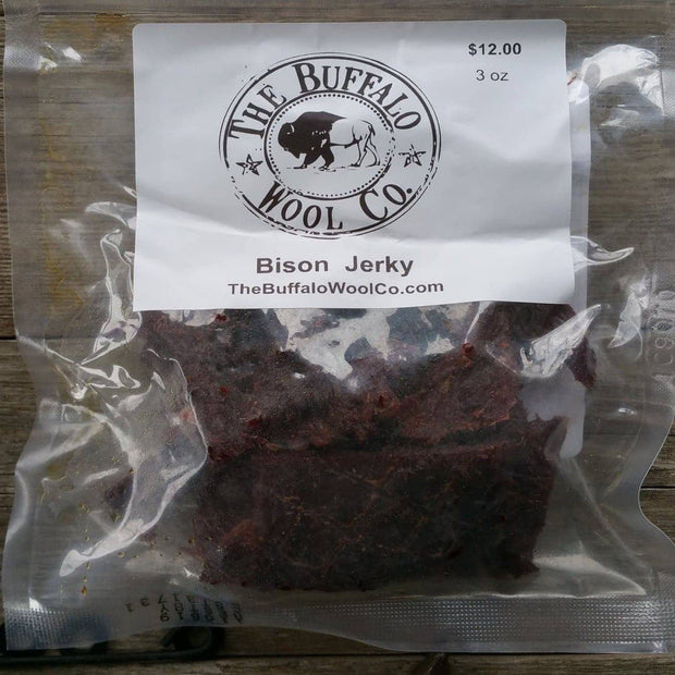 Bison Jerky The Buffalo Wool Co.