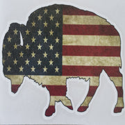 "Bison ""Buffalo"" Stickers Accessories The Buffalo Wool Co. American Bison - small"