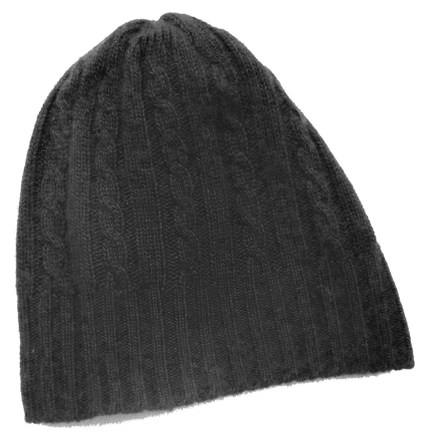 8b65a6550 Cabled Bison/Silk Knitted Hat