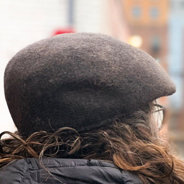 "The ""Isaac"" Cuffley Cap Bison Gear The Buffalo Wool Co."