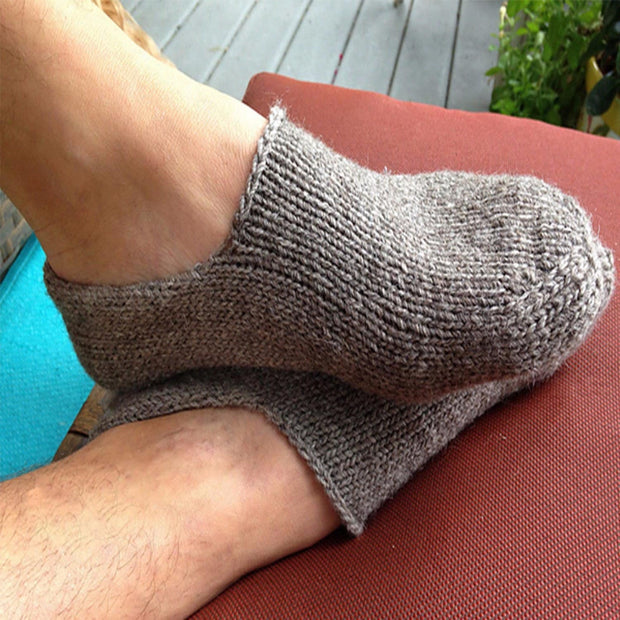 Moc-a-Sock PDF knitting pattern Patterns & Kits The Buffalo Wool Co. PDF Pattern