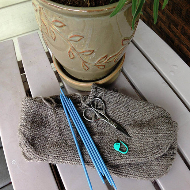 Moc-a-Sock PDF knitting pattern Patterns & Kits The Buffalo Wool Co.