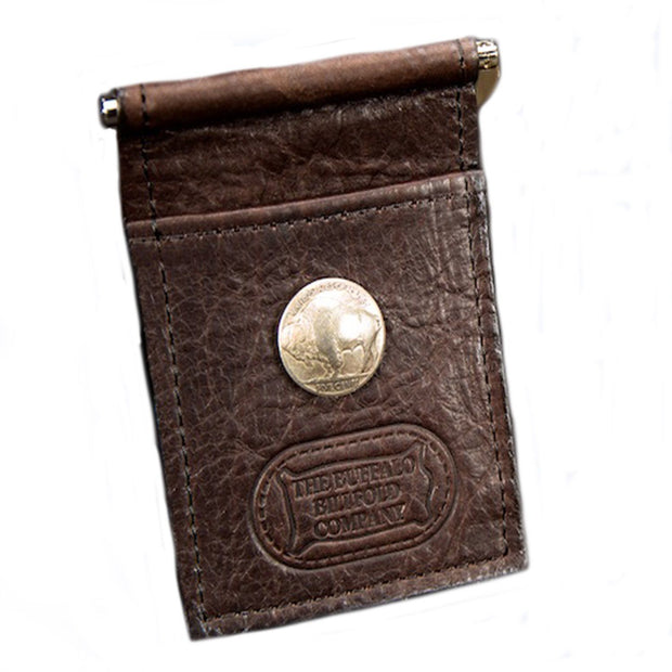 Money Clip Accessories The Buffalo Billfold Co Buffalo Nickel Mechanical Clip