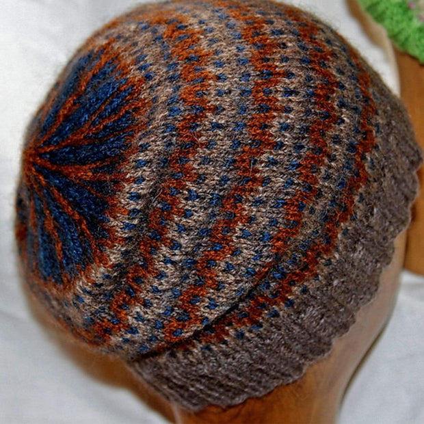 Ode to.... hat - PDF Knitting pattern