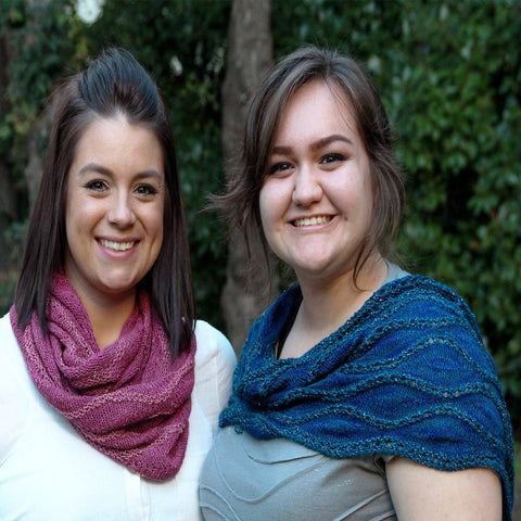 Pasque Cowl - PDF knitting pattern
