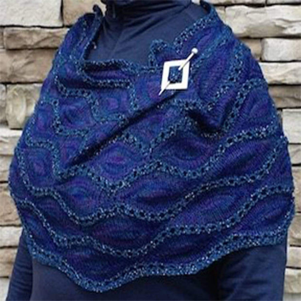 Pasque Cowl - PDF knitting pattern Patterns & Kits The Buffalo Wool Co.