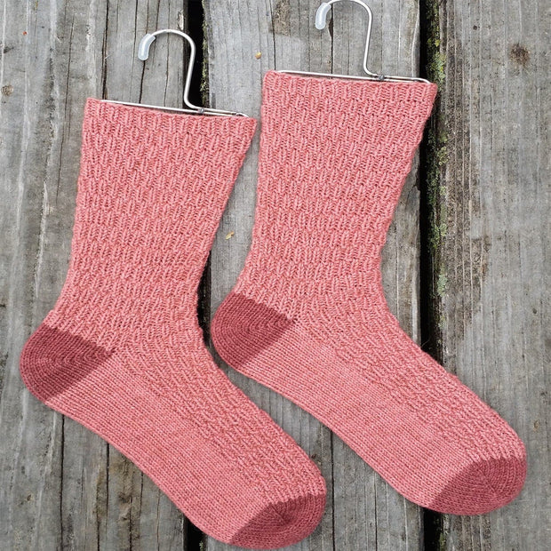 Tracks Sport Sock - PDF Knitting Pattern Patterns & Kits The Buffalo Wool Co.