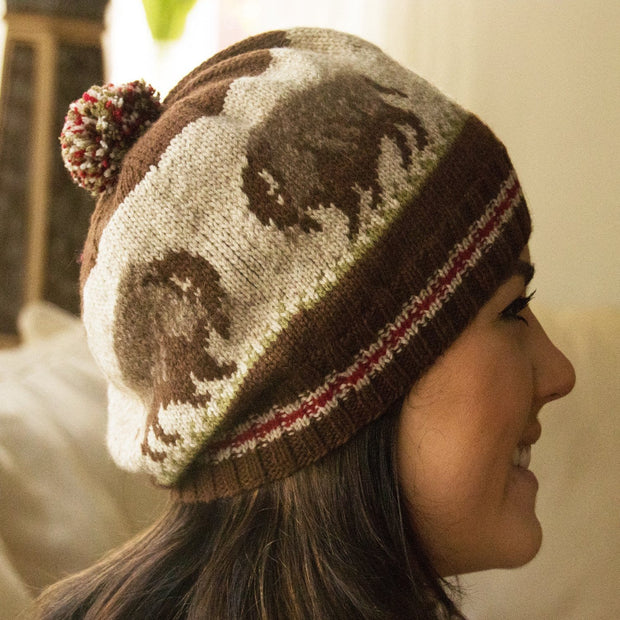 Wanderers Hat - Knitting kit Patterns & Kits The Buffalo Wool Co. Wanderers Hat kit