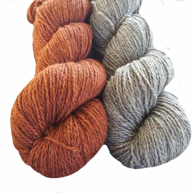 Winter Park knitting kit - color choice natural & copper