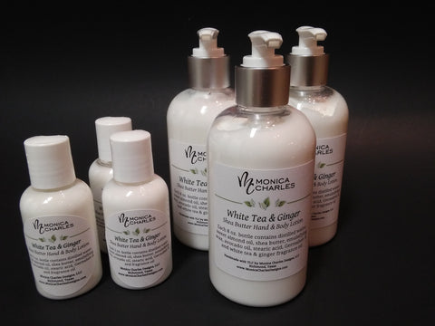 hand and body lotion from monica charles designs