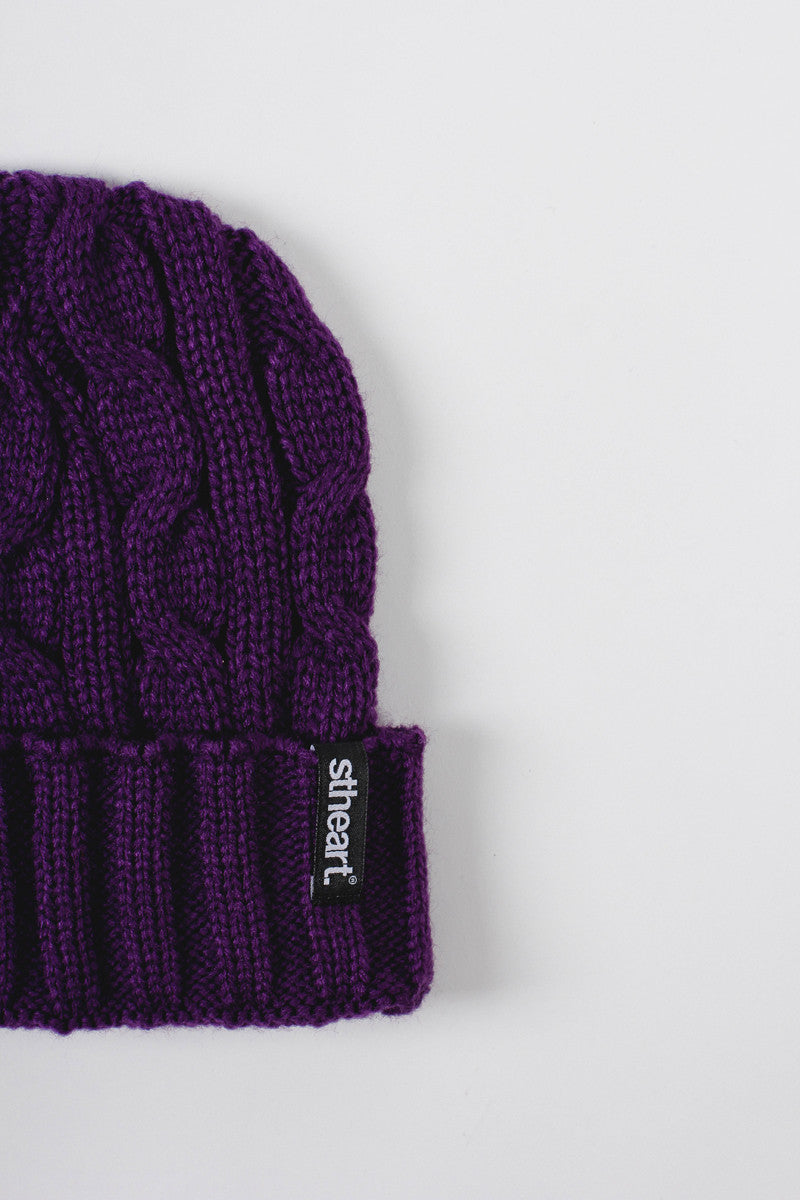 Portsmouth Beanie :: Purple