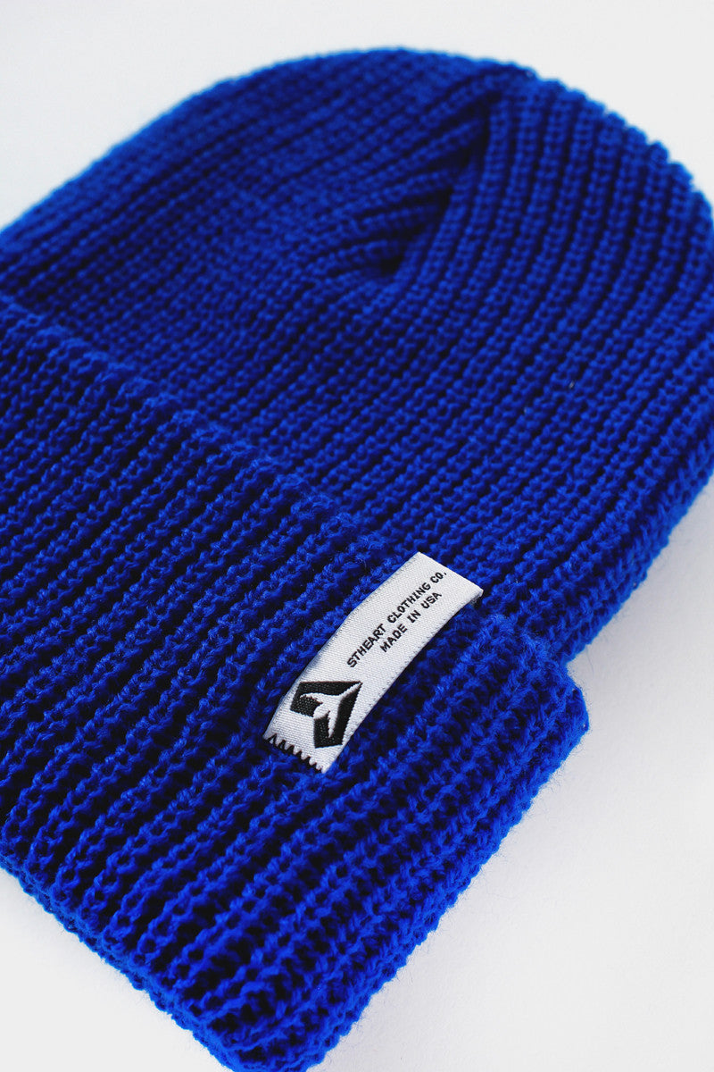 The Brighton Beanie :: Royal Blue