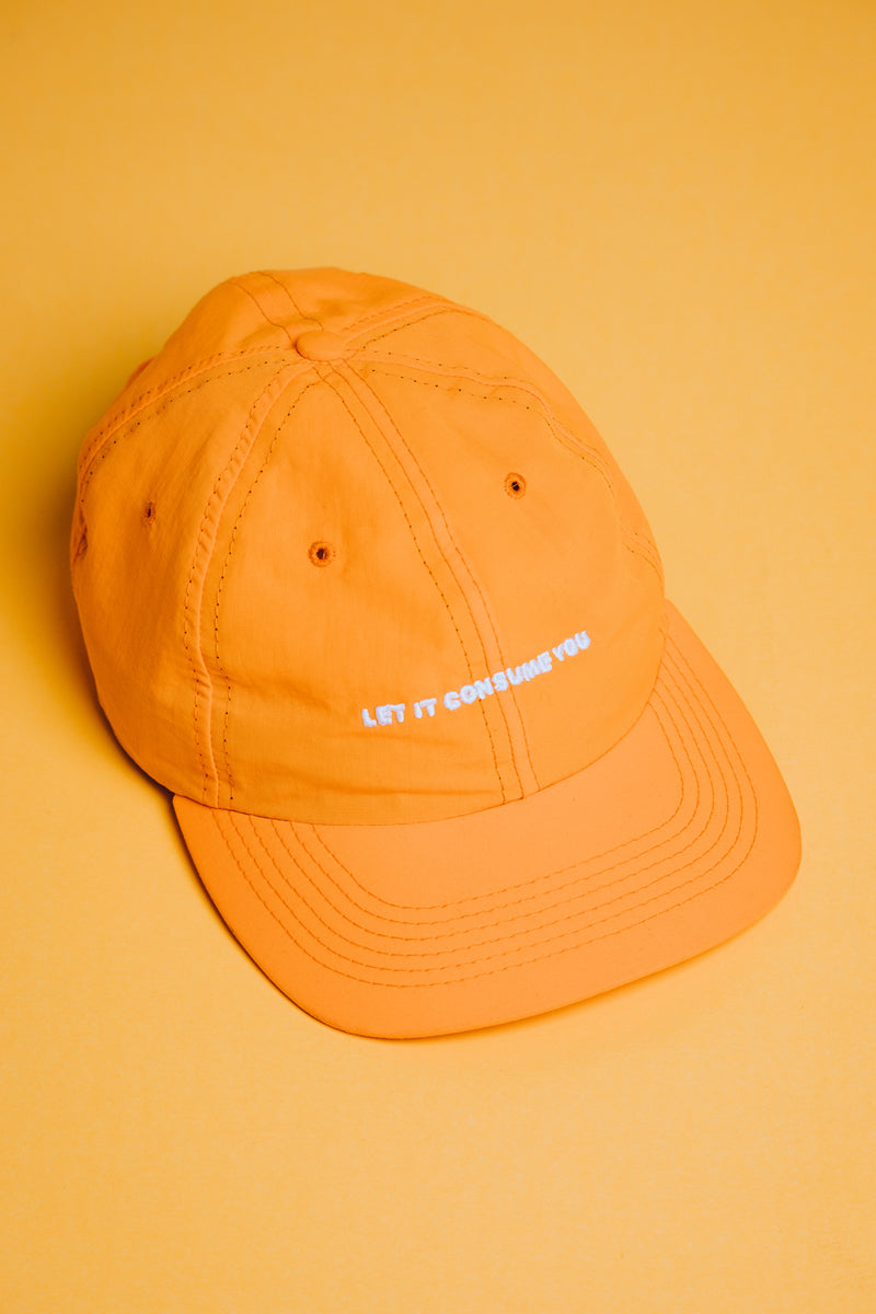 Consumed Hat __ Yellow