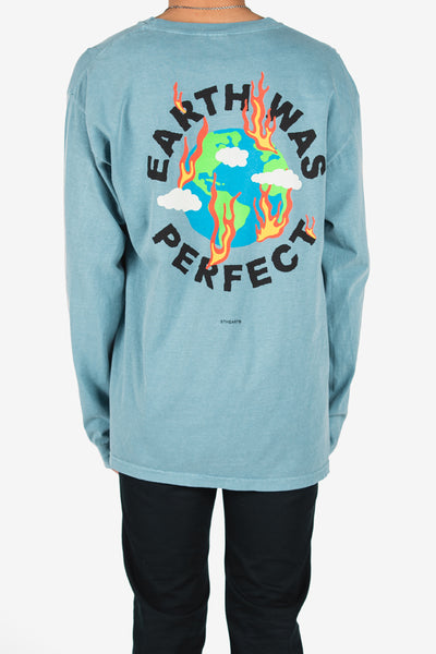 Paradise Lost Long Sleeve __ Blue