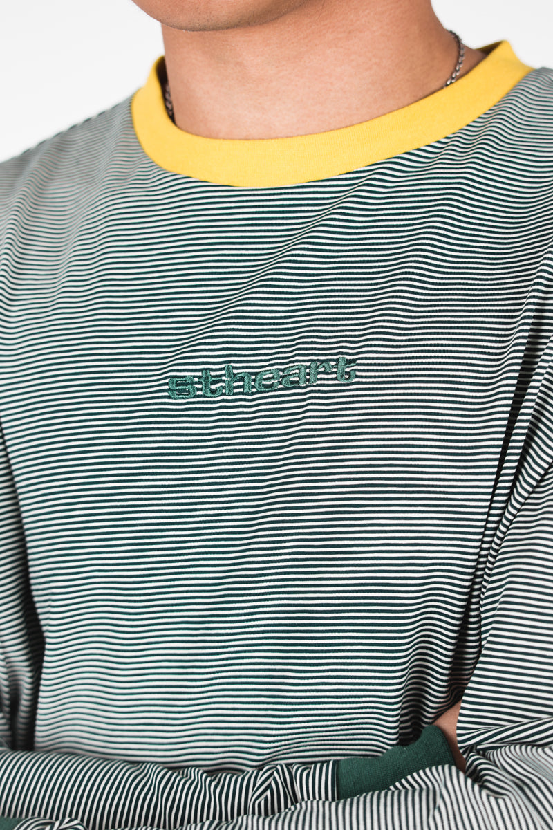 Striped Logo Long Sleeve