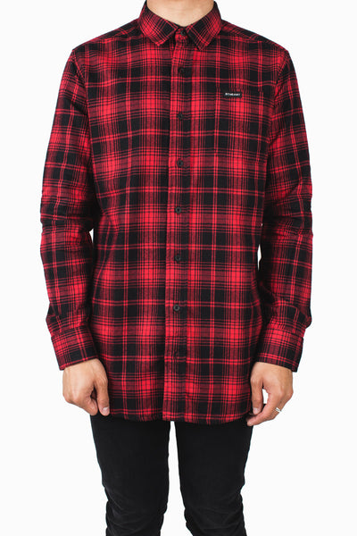 Earth Was Flannel Long Sleeve