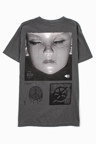 Futureproof Tee __ Charcoal