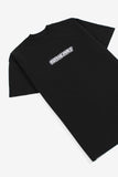 Futuretype Embroidered Heavy Tee | Black