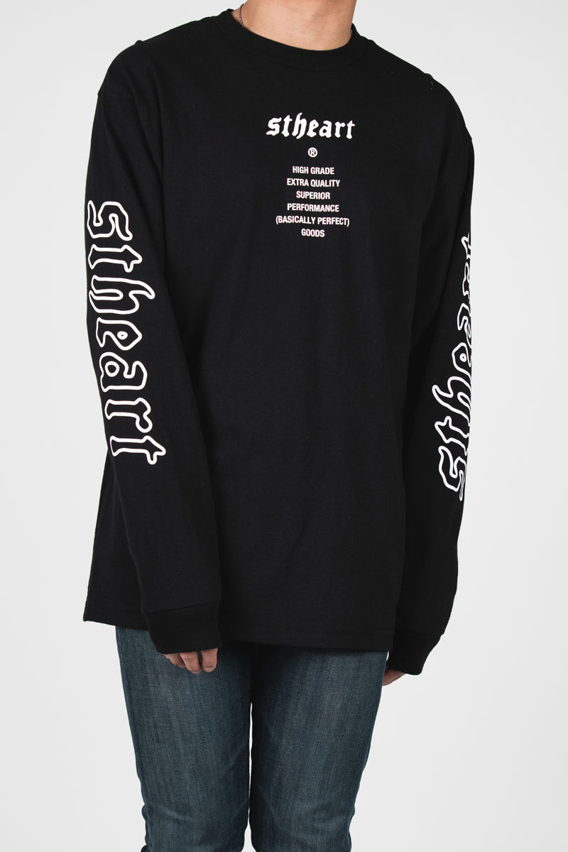 High Grade Long Sleeve | Black