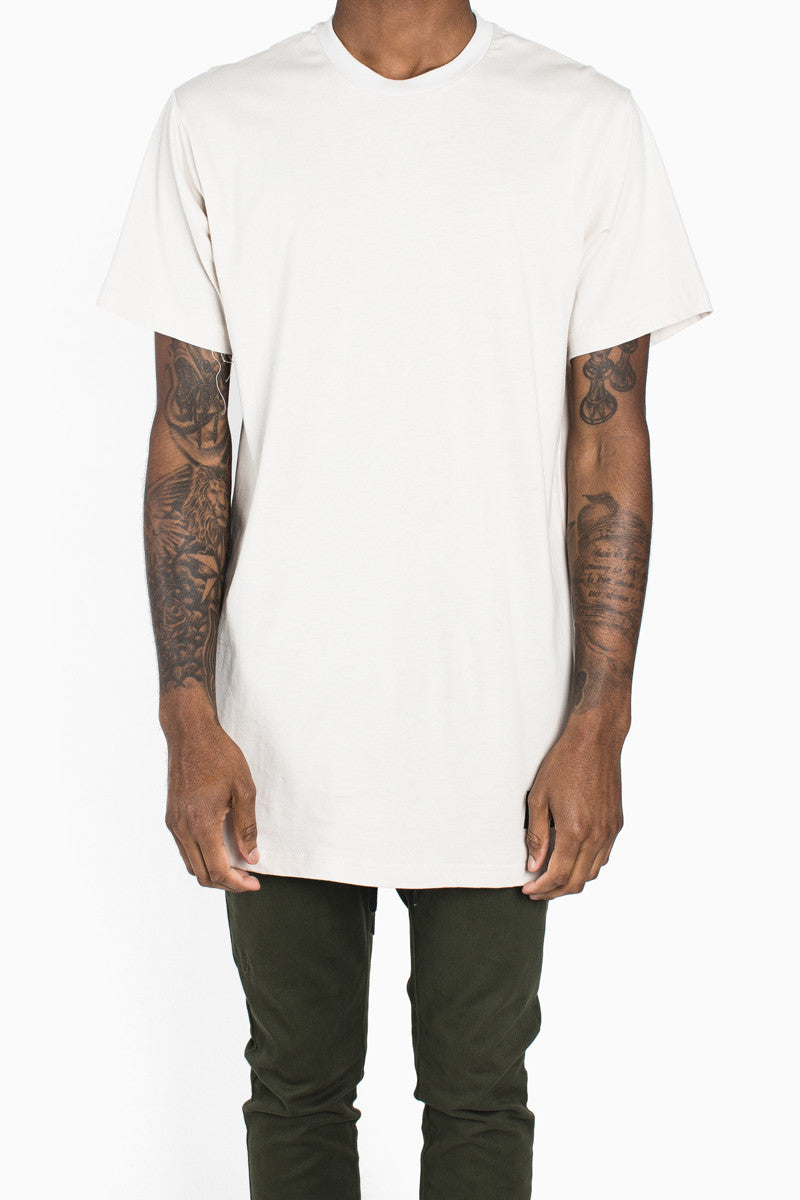 Long Fit Tee :: Tan