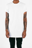 Long Fit Tee :: White