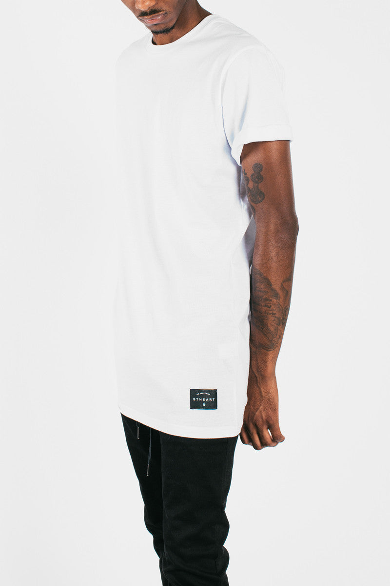Long Fit Tee :: 2 Pack