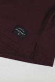 Long Fit Tee :: Wine