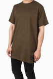 Long Fit Tee :: Dark Earth
