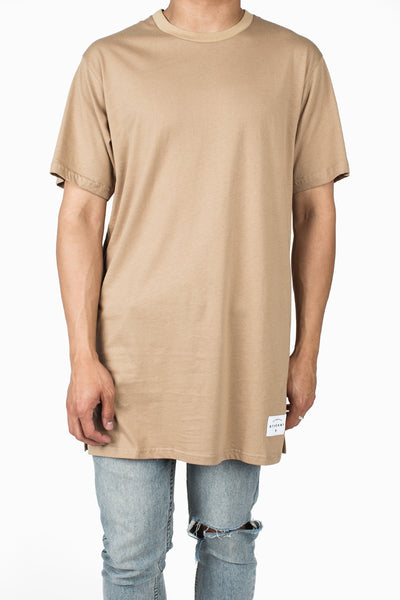Long Fit Tee :: Nude