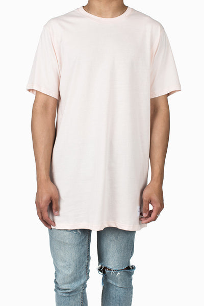 Long Fit Tee :: Light Peach