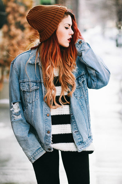 Oversized Beanie :: Copper