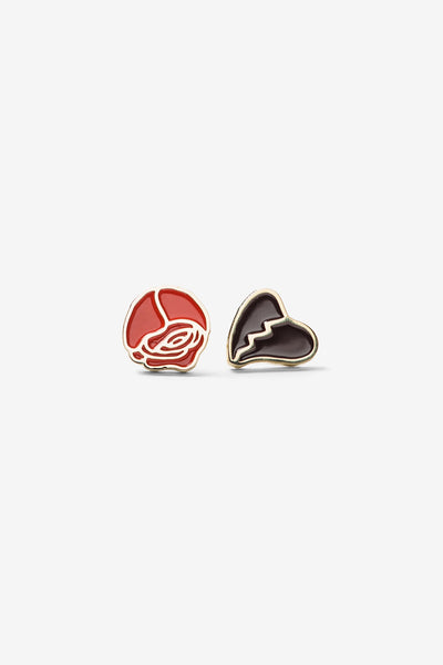 Rose/Heart Pin Set 2-Pack