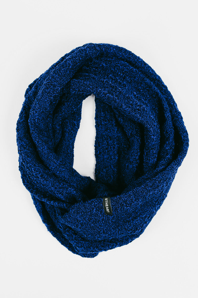 Eternity Scarf :: Royal/Navy