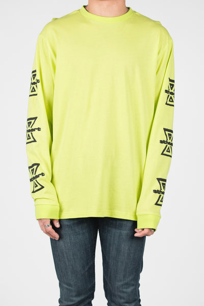 Altered Long Sleeve _ Highlighter