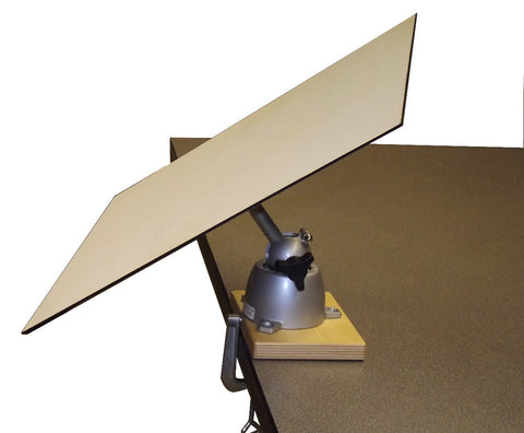 A) Large Top Orbital Easel Tripod/Clamp Model