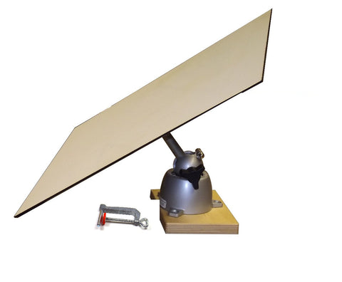 A) Small Top Orbital Easel Tripod/Clamp Model