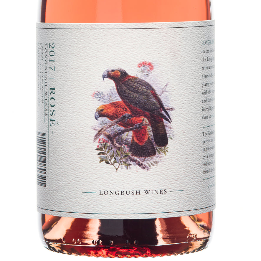 5/5 STARS - Longbush Wines 2020 ROSE