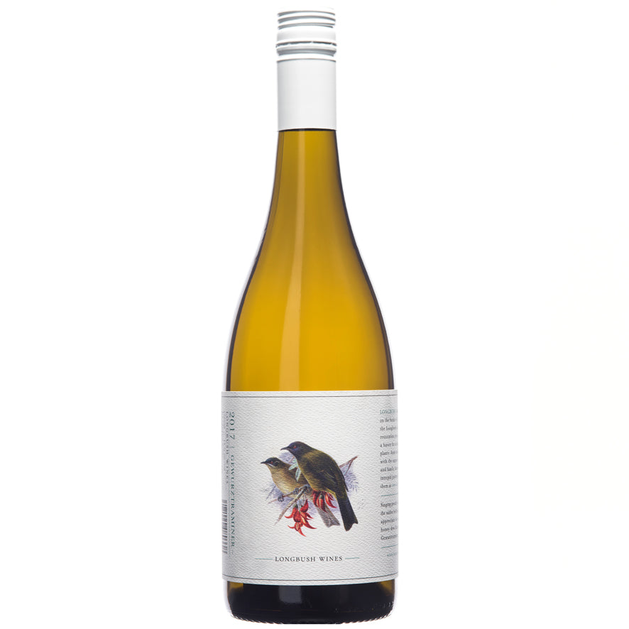Longbush Wines 'Bird Series' 2018 Gewurztraminer